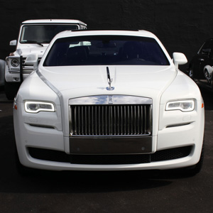 Hinckley Rolls Royce Ghost Wedding Car