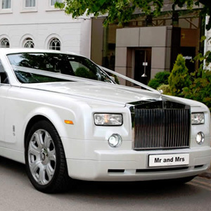 Hinckley Rolls Royce Phantom Wedding Car